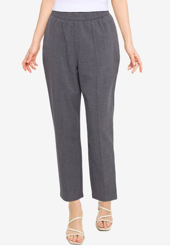 Abercrombie & Fitch grey Fall Sartorial Taper Pants ADC5CAAD76C863GS_1