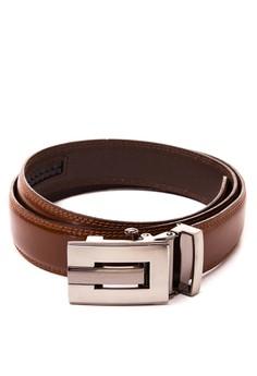 Autolock Leather Belt