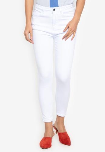 REDGIRL white High Waist Pants 23CE2AA735C6D7GS_1
