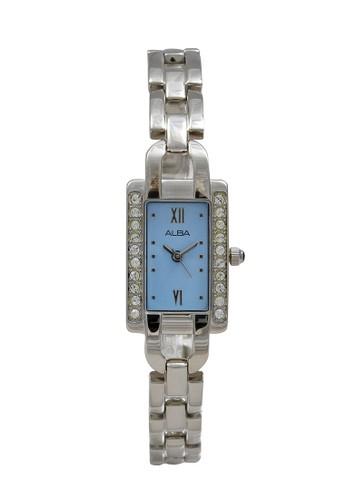 Alba silver ALBA Jam Tangan Wanita - Silver Blue - Stainless Steel - AC3S27 2A170AC42D625CGS_1