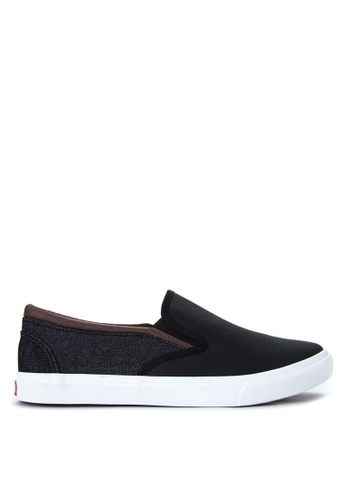 Italianos black Ray Sneakers IT153SH97OPAPH_1
