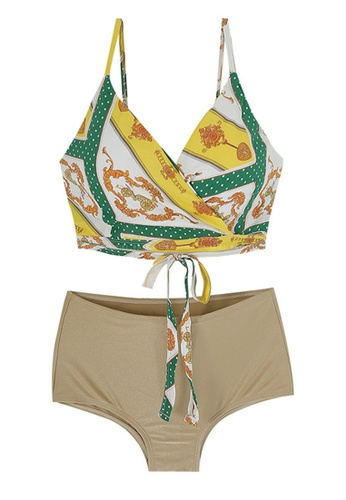ZITIQUE multi Women's Boho-chic Bikini - Multi CDB4AUSA038AE4GS_1