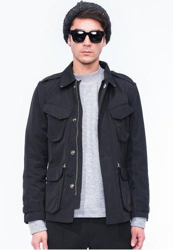 Alpha Style black Jay Commander Jacket AL461AA0GN4BSG_1
