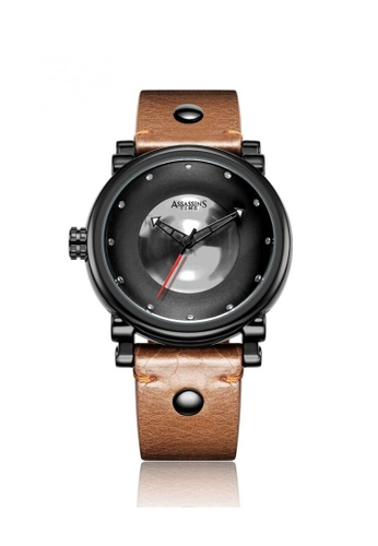 Assassin's Time brown Assassin's Time GEMS Brown Leather E3435AC73E2A5BGS_1