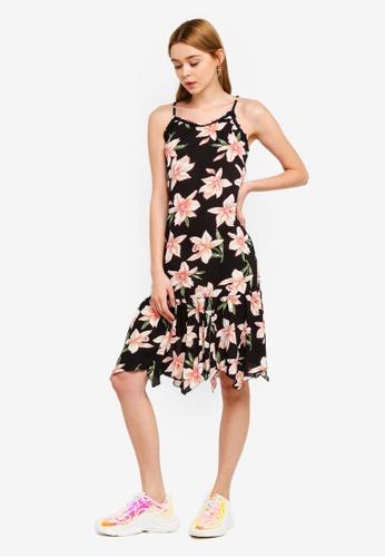Something Borrowed 粉紅色 Drop Waist Frilled Cami Dress 4A0F8AAAF8646CGS_1