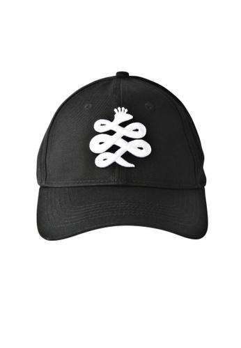 Chronomart black Baem Korea Black Logo Snapback Black Hip-Hop Fashion Cap CH783AC66WYRPH_1