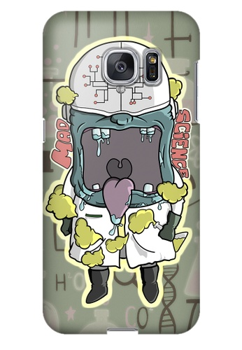Wonder Cover grey Mad Science Hard Case for Samsung Galaxy S7 Edge WO617AC21PCOPH_1
