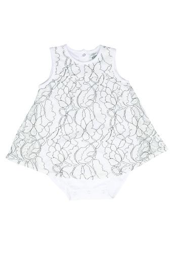 LC Waikiki white Baby Girl's Bodysuit EF75BKA63F1788GS_1