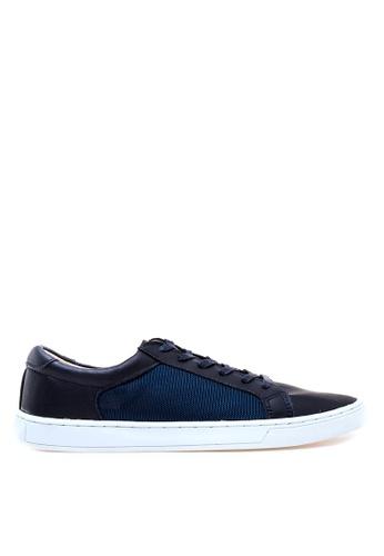 Anarkyzt navy Anda Mesh Panel Sneakers AN992SH14QAZPH_1
