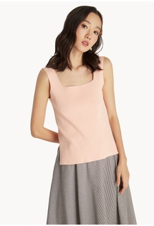 2f70b327a5 Buy QLOTHE Rapture  Chase Cut-in Top Online on ZALORA Singapore