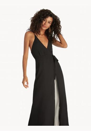 f894e44929 Pomelo black Maxi Open Back Cover Up Dress - Black 71BEBAA384D25DGS_1
