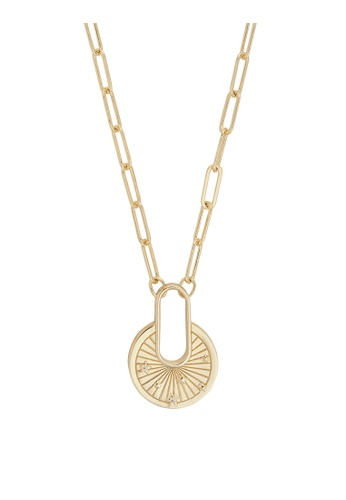 Wanderlust + Co gold Ray of Light Gold Necklace 7C53FACDDAE417GS_1