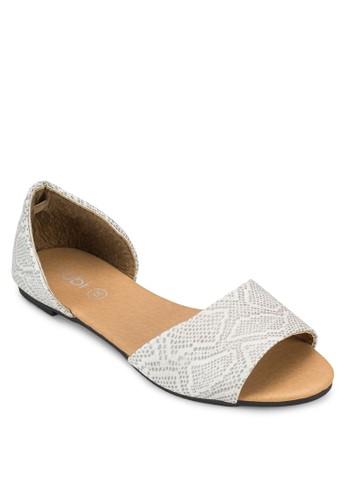 寬帶包跟平底鞋、 女鞋、 印花時代Rubi寬帶包跟平底鞋最新折價