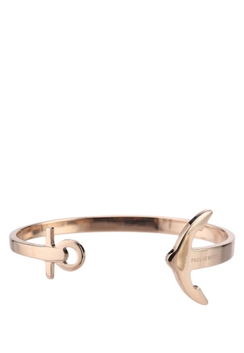 Paul Hewitt gold ANCUFF IP Rose Gold Cuff Bracelet 314E6AC1B19D81GS_1