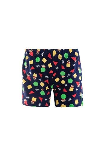 FOREST ( 1 Piece ) Forest X Shinchan 100% Cotton Ladies Boxer Shorts Assorted Colours - CLD0007X 6728BUSC619A01GS_1