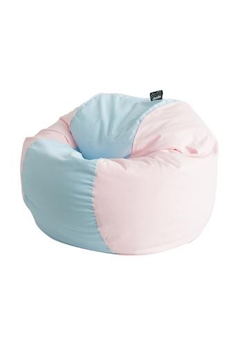 doob pink and blue TOONACAN - canned-food fabric doob bean bag (Bubblegum) DAA18HL9B61F87GS_1