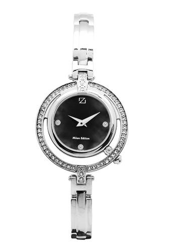 ZECA black and silver Zeca jam tangan wanita 193L.S.P.S2 ZE074AC49BKOID_1