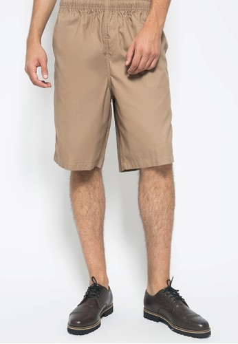 BRITANIA brown BRITANIA Casual Chino Shorts 90215 E1ACAAA6C71660GS_1