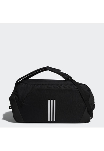 ADIDAS black Endurance Packing System Duffel Bag 07B50AC630E013GS_1
