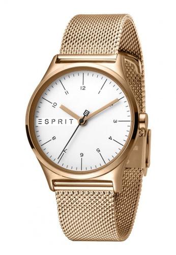 ESPRIT gold Esprit Women Essential Silver Rosegold Mesh-L ES1L034M0085 6253FAC45705F1GS_1