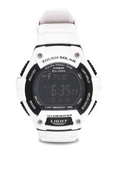 Digital W-S220C-7B Watch