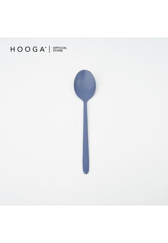 HOOGA blue Hooga Tea Spoon Barton Moonlight Blue (Bundle of 6) 0543BHLEBF9744GS_1