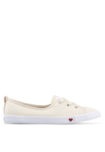 4bde08f355e001 Converse white Chuck Taylor All Star Ballet Lace Sucker For Love Slip Ons  CA4C7SH87152F3GS 1