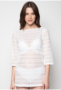 LS Lace Cover Up