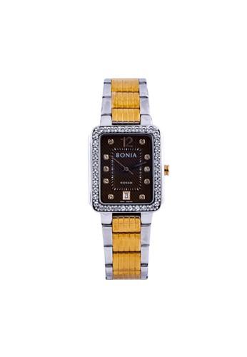 BONIA silver Bonia Rosso - BR156-2645S - Jam Tangan Wanita - Silver Rosegold DD728AC6D17E45GS_1