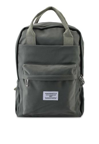Keddo grey Sabra Backpack 75C8DAC1A515C6GS_1