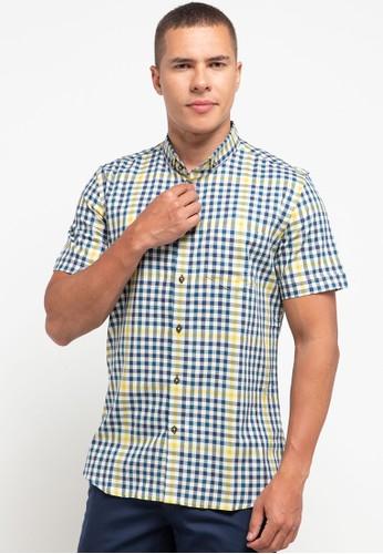Manzone blue IGOR-BLUE Shirt E53B5AAD1EDFA2GS_1