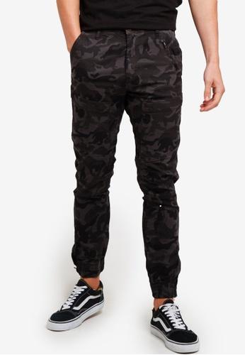 Cotton On 黑色 印花慢跑褲 2CCEAAA56C7DBEGS_1