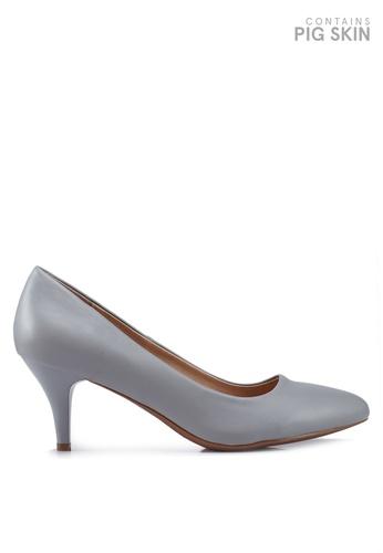 BETSY 灰色 閃亮高跟鞋 CAD2BSH718C67BGS_1