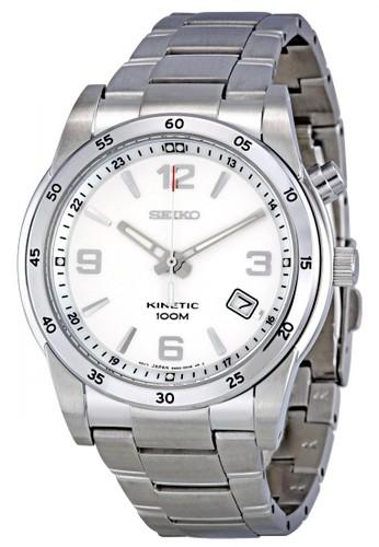 Seiko silver Jam tangan Seiko Kinetic SKA499 strap Stainless steel silver SE382AC0VPB5ID_1