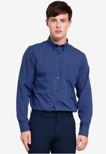 OVS 藍色 長袖襯衫 FE0F0AACCDB8E6GS_1