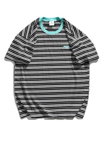 Twenty Eight Shoes Small Fresh Style Stripe T-shirt HH1076 5726DAA3A23E91GS_1