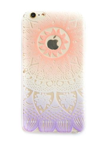 Fancy Cellphone Cases multi Mandala Soft Transparent Case for iPhone 6plus, 6splus  FA644AC86QWJPH_1
