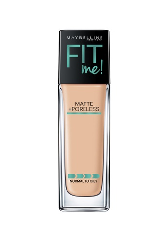 Maybelline Maybelline Fit Me Matte + Poreless Liquid Foundation (128 Warm Nude) MA671BE0RW7LMY_1