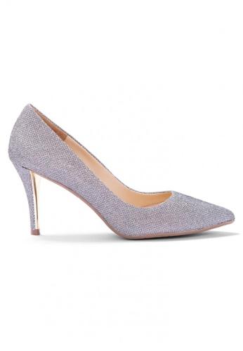 Shu Talk grey Glitter Me Elegant High Heels A6234SH670578DGS_1