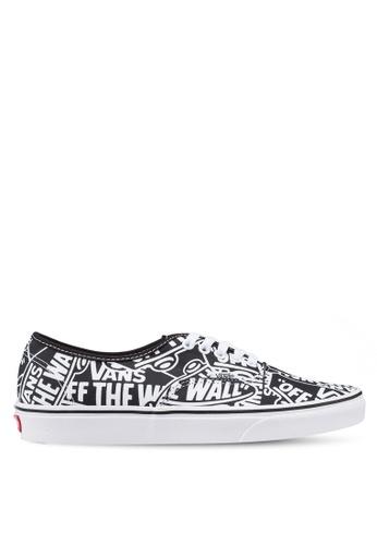 VANS black and white Authentic OTW Repeat Sneakers DE4D4SH44CA753GS_1
