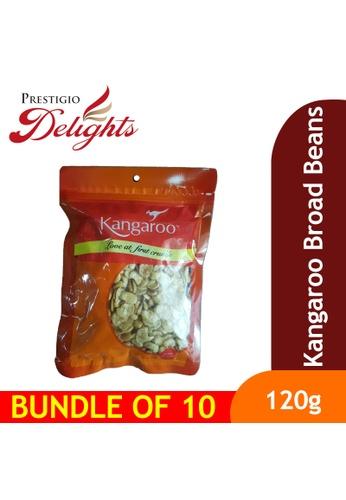Prestigio Delights Kangaroo Broad Beans 120g Bundle of 10 18614ES0C5AEA2GS_1