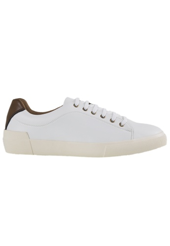 Tomaz white Tomaz C305 Mens Sneakers (White) 63C25SH61DFBA9GS_1