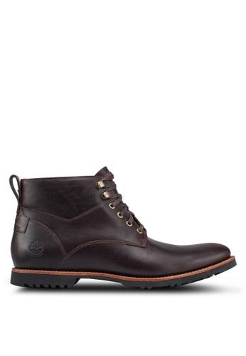 Timberland brown Kendrick Waterproof Chukka Boots 9DB4CSH71C4D43GS_1