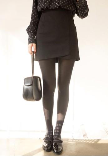 不對稱下擺A字短裙,esprit 衣服 服飾, 迷你裙