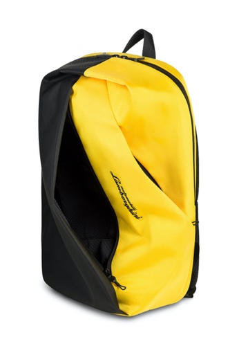 Lamborghini yellow Automobili Lamborghini® Galleria Yellow Backpack 20411AC2AFA9B4GS_1