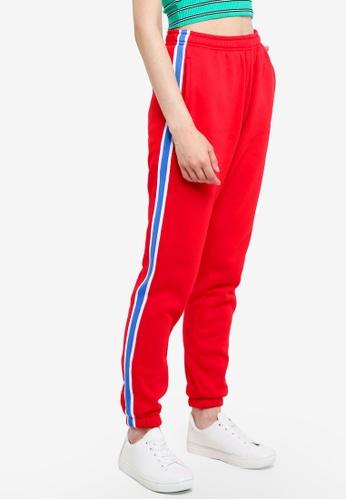 Factorie red Trenton Track Pants 4F7D1AA8C6DBC3GS_1