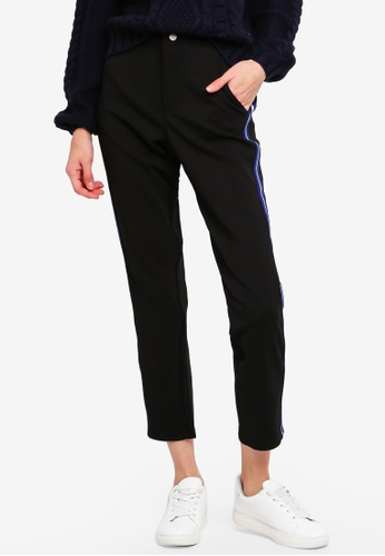 ONLY black Aruna Tape 7/8 Pant 00E62AA49D3BE0GS_1