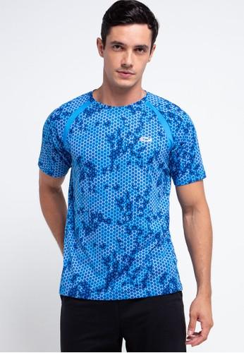 Opelon blue Short Sleeve Top Mens 1A80BAAEF0063EGS_1