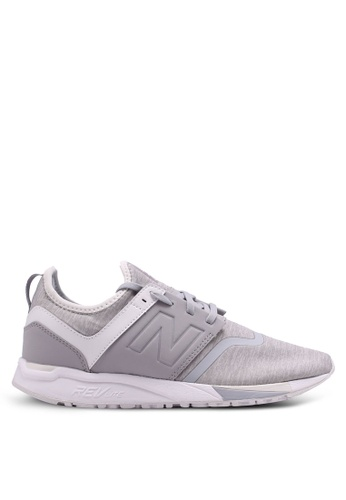 New Balance 銀色 247 Heather Edition Lifestyle Sneakers A95B7SHF03EFD6GS_1