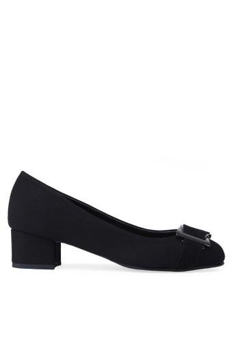 SPUR black Buckle bow Heels 96985SHD9F1CEDGS_1